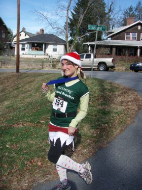 2011 Jingle Bell Elf Costume